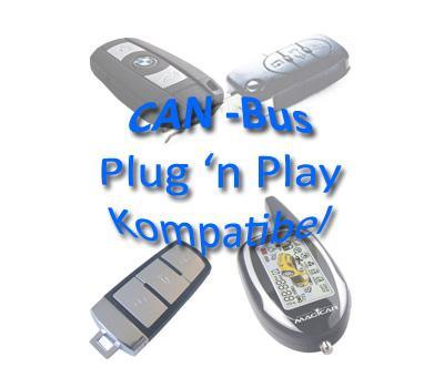 Magicar CANBus M2 M2S Alarmanlage