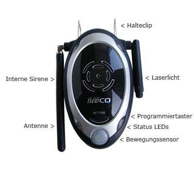 NeoCQ Steuerteil DIY Alarm